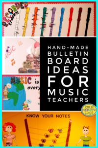 Handmade bulletin board ideas for music teachers