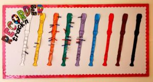 elementary music bulletin board 1