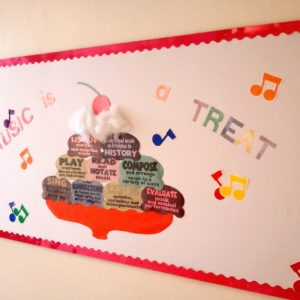 elementary music bulletin board 5