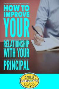 how to improve your relationship with your principal